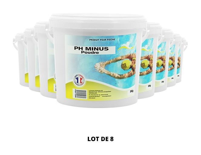 Ph Minus poudre - 8x5kg de pH, TAC - Swimmer