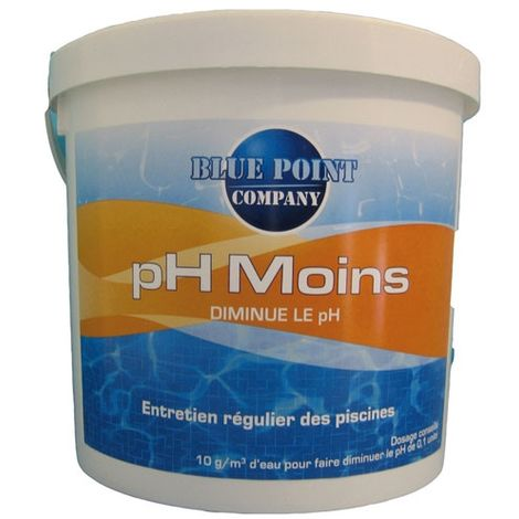 PH MOINS 5KG HYDRAPRO BLUE POINT COMPAGNY 006019904