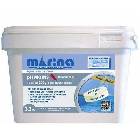 pH MOINS galets de 200g Marina - 3,2kg