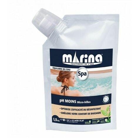 pH MOINS Marina sachet flexible bouchon doseur - 1,5kg