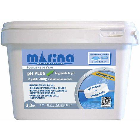 pH plus en galets pré-dosés 3,2 kg - Marina
