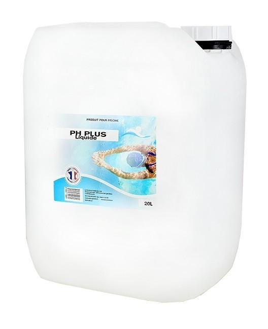 pH Plus liquide - 1x20L de pH, TAC - Swimmer