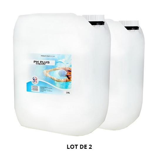 pH Plus liquide - 2x20L de pH, TAC - Swimmer
