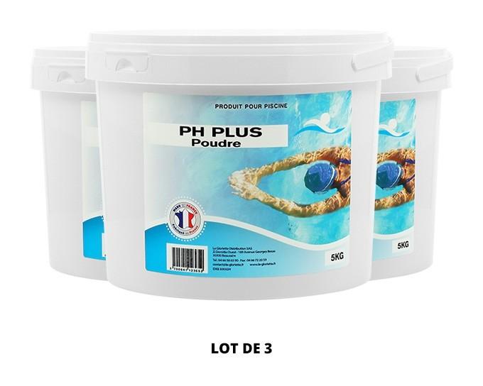 pH plus poudre - 3x5kg de pH, TAC - Swimmer