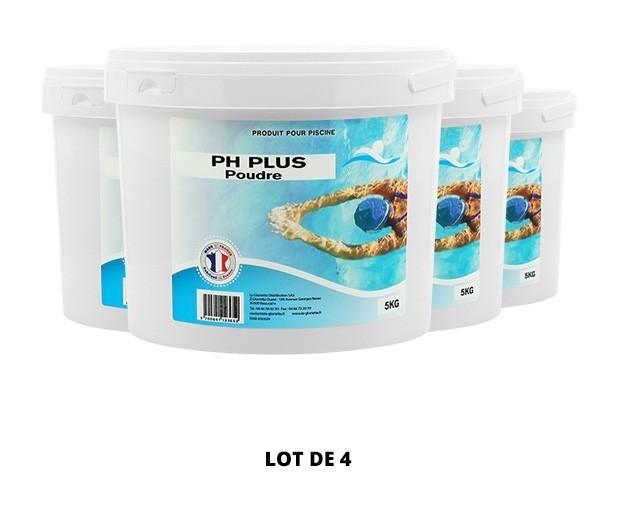 pH plus poudre - 4x5kg de pH, TAC - Swimmer