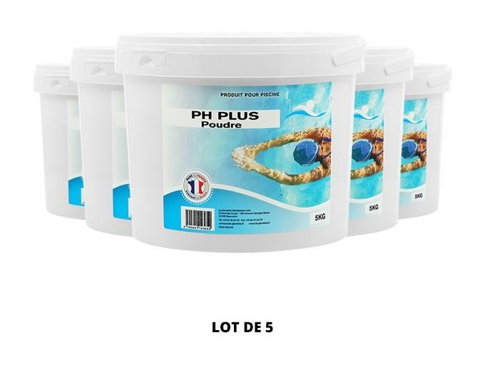 pH plus poudre - 5x5kg de pH, TAC - Swimmer