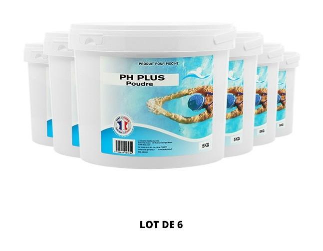 pH plus poudre - 6x5kg de pH, TAC - Swimmer