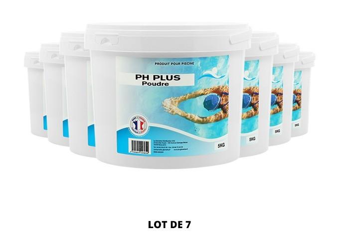 pH plus poudre - 7x5kg de pH, TAC - Swimmer