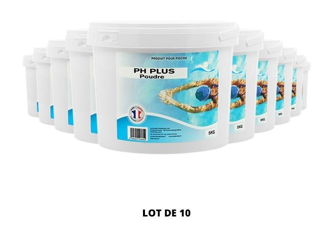 pH plus poudre - 10x5kg de pH, TAC - Swimmer