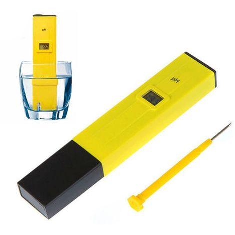 PH Testeur Électronique Digital Hydroponique Poche Pen-PH Pour Aquarium Piscine