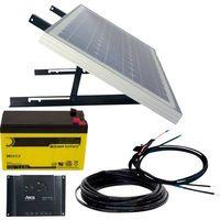 Phaesun Energy Generation Kit Solar Rise Nine 1.0 600299 Impianto a energia solare 10 Wp Batteria ricaricabile incl.,