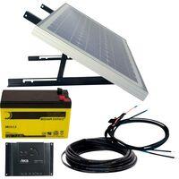 Phaesun Energy Generation Kit Solar Rise Nine 1.0 600299 Solaranlage 10 Wp inkl. Akku, inkl. Anschlu W385051