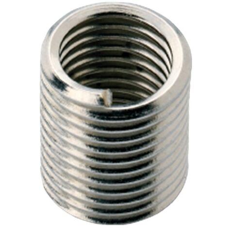 Phan coil filet rapporté inox metrique M8 2xD Van ommen