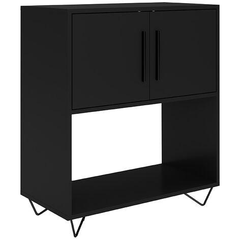 "main image of ""Phantom Black Sideboard - 68cm"""