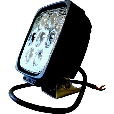 PHARE DE TRAVAIL CARRE 7 LED 35W 2400 LUMENS -S17071