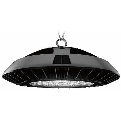 Phare de Travail LED 150W UFO Spot LED Suspension 18000LM IP65 Projecteur Industriel Extérier et Intérieur Blanc Froid 6000K Certification CE TÜV