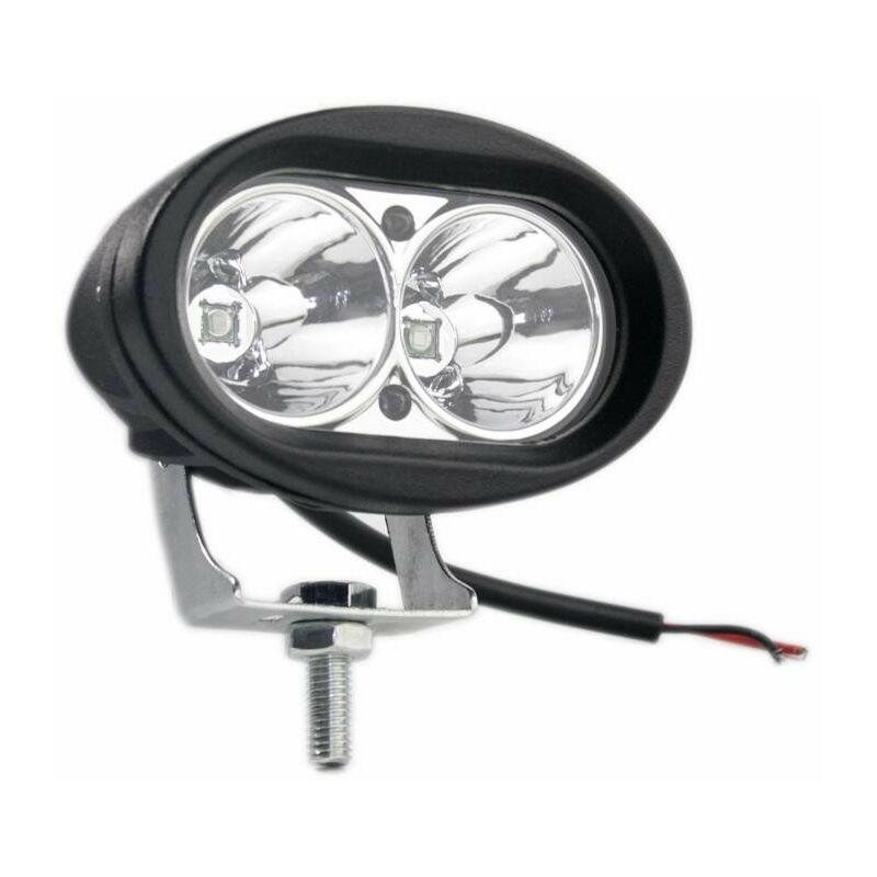Phare travail ovale 10-60 V 10 W 850 LM 2 LED - AMA