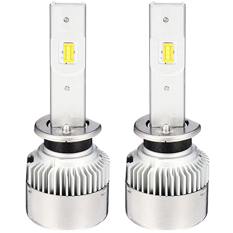 Phares De Voiture Mini Ampoule H1 H3 880 H7 H11 (H8/H9)/9005 (H10/Hb3)/9006 (Hb4)/9012 H4 H13 9007 Salut/Lo 9000Lm 6500K 12V 24V Auto Antibrouillard