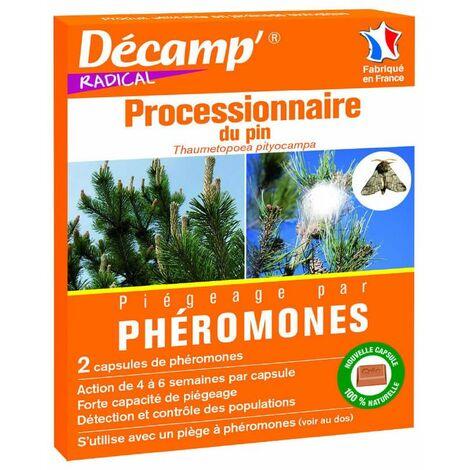 Phéromone contre la chenille processionnaire du pin (2 capusles)