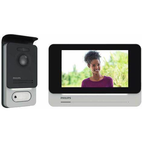 "Philipps - Videófono e Intercomunicador 7"" con imagen de alta calidad y visión nocturna - Avidsen WelcomeEye Touch"