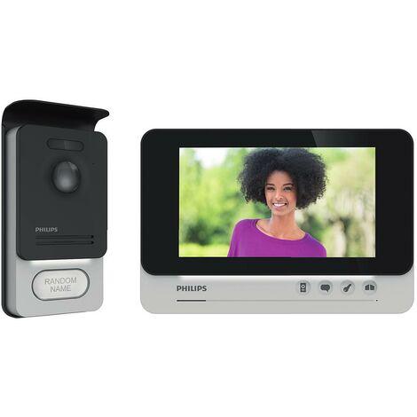 """Philipps - Videófono e intercomunicador de 7"""" con pantalla ancha de visión nocturna - WelcomeEye Comfort"""