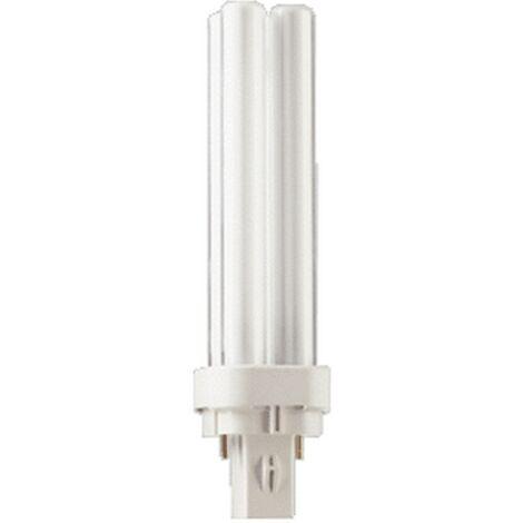 Philips 18w MASTER PL-C G24d-2 Cap (840) Cool White Compact Fluorescent Lamp