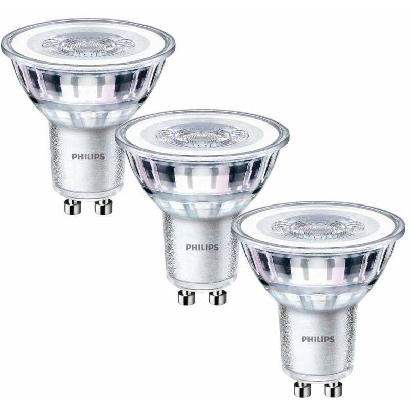 Philips Lampadine LED Classic 50W GU10 Tris