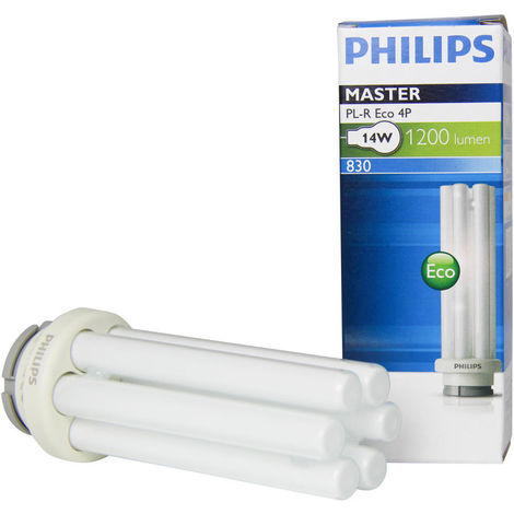 Philips 265982 bulb GR14q-1 PL-R Eco 14W 840 1050lm - 4 Pins