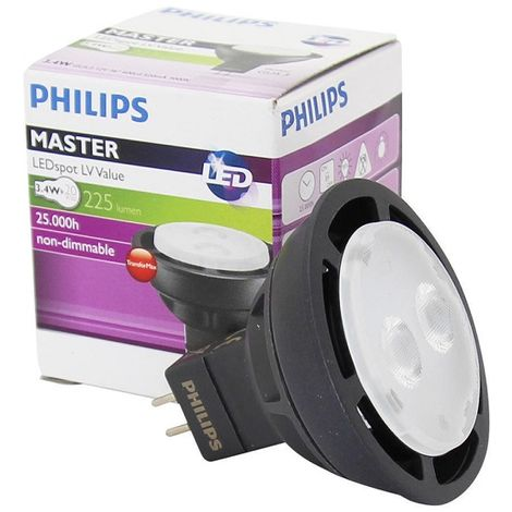 Philips 475744 bulb GU5.3 3.4-20W 830 MASTER LEDspot LV Value MR16 36D