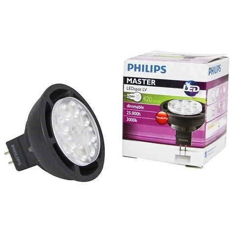 Philips 785439 Ampoule GU5.3 6.3-35W 830 MASTER LEDspot LV D MR16 36D