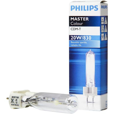 Philips 871562 bulb G12 20W - MastErcolour 3000K white warm