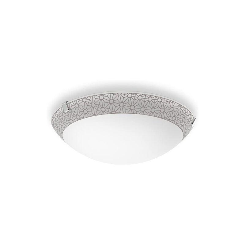 Ballan Lampada da Parete, e/o Soffitto LED, 10W, Diametro 26 cm, Bronzo [Classe di efficienza energetica A+] - Philips