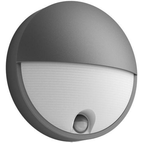 Lampada da esterno Philips Raccoon LED 3w Luce Lampada Parete Rilevatore di movimento