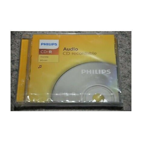 Philips CD-R audio, une pièce en jewelcase (CR7A0NJ10/00 / 10)