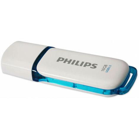 Philips Clé USB 16GB 3.0 USB Drive Snow (FM16FD75B/10)