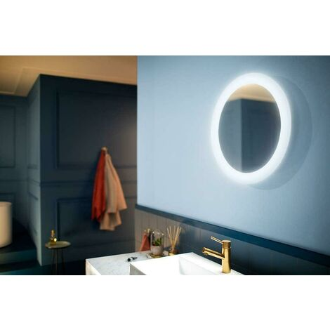 PHILIPS CONSUMER SPECCHIO LED ADORE 40W LUCE BIANCA CON DIMMER SWITCH 2400LM IP44 34357/31/P7 3435731P7
