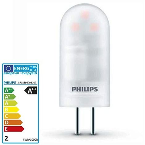 PHILIPS COREPRO AMPOULE LED BLANC CHAUD 1,7 W G4 A++ (79310700)