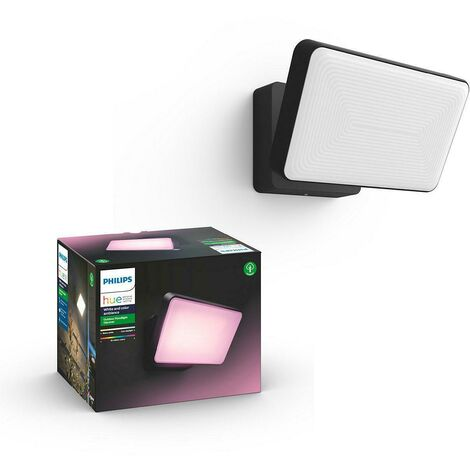 """main image of """"Philips discover hue black metal outdoor projector 9150057314011743530p7"""""""