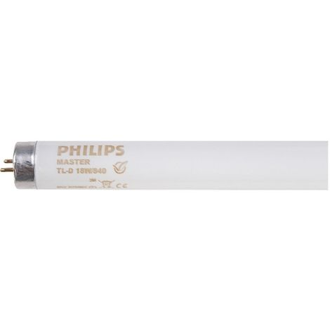 Tube fluorescent Master TL-D Super 80 - 18 W - 4000 k - Lot de 25 - Philips