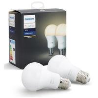PHILIPS HUE Pack de 2 ampoules connectées White E27