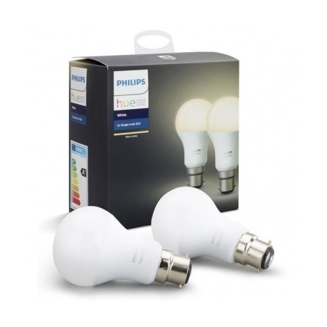 B22 De Hue Pack 2 Ampoules White Philips tdQCsxBhr