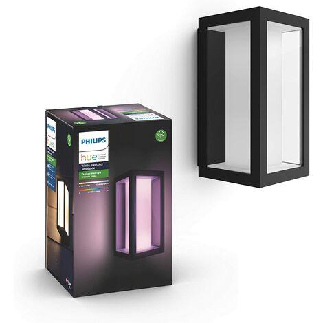 """main image of """"Philips Hue White and Color Ambiance Kit de base ů LED IMPRESS ů intensité variable jusqu'ů 16 millions de couleurs, Noir"""""""