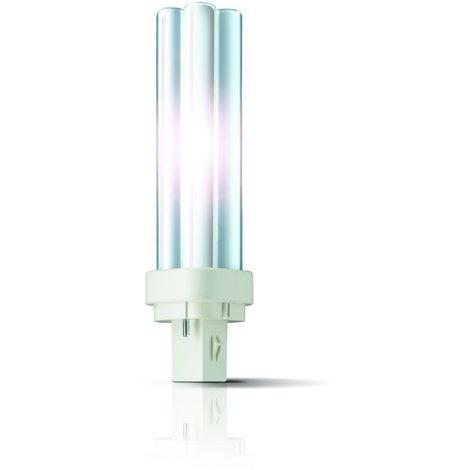 Licht G24d 830 Warmweiß Philips Kompaktleuchtstofflampe MASTER PL-C 2P 26W