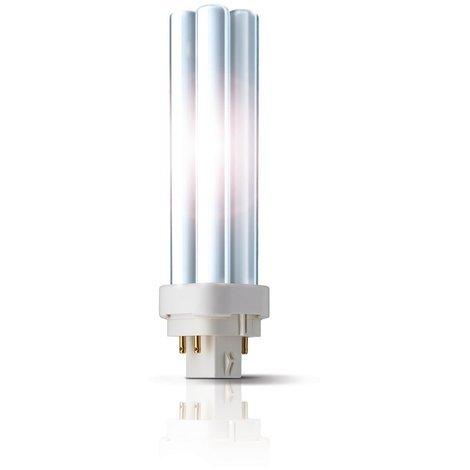 Philips Kompaktleuchtstofflampe MASTER PL-C 4P - G24q, 830 Warmweiß