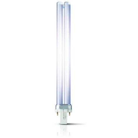 Philips Kompaktleuchtstofflampe MASTER PL-S 2P - G23, 827 Warmton-extra