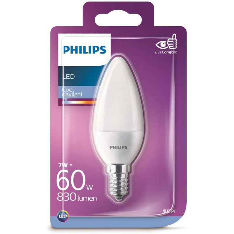 Lampadina LED Candela 60w E14 6500K non dim - SIGNIFY ITALY S.P.A.