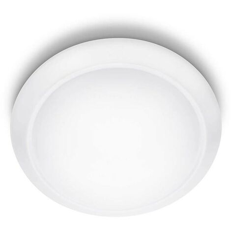 Philips Lámpara de techo LED myLiving Cinnabar blanca 4x5 W 333653116