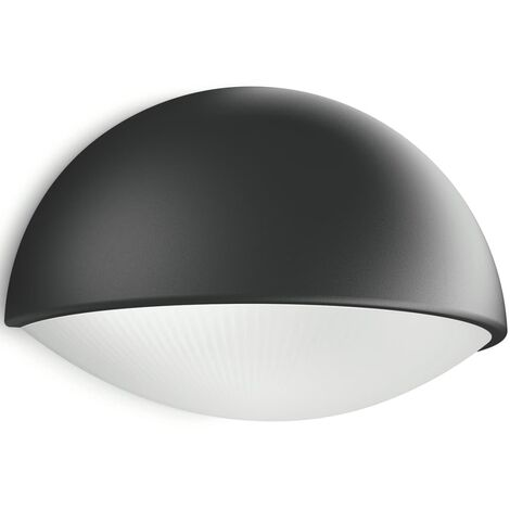 Philips - Lampe LED étanche Dust IP44 H12 cm - Anthracite