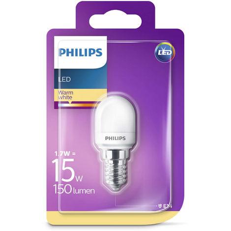 Philips LED T25 Frosted E14 Edison 15W Appliance Fridge Freezer Light Bulb 150Lm