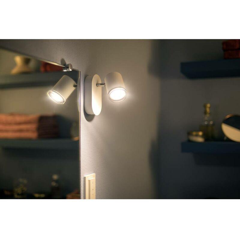 Philips lighting hue lampada led per specchio con interruttore